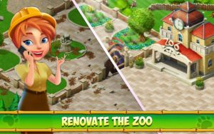تصویر محیط Family Zoo: The Story v2.1.9