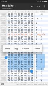 تصویر محیط MT Manager v2.8.3