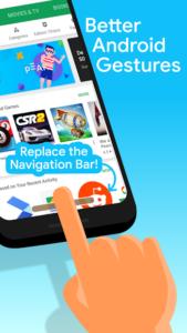 تصویر محیط Navigation Gestures v1.21.10
