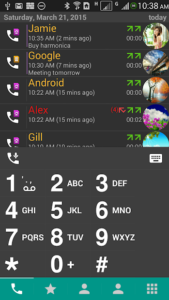 تصویر محیط DW Contacts & Phone & Dialer v3.1.4.0