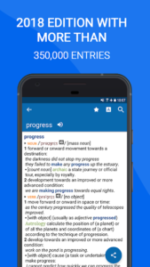 تصویر محیط Oxford Dictionary of English Premium v11.5.651 + data