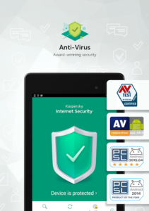 تصویر محیط Kaspersky Mobile Antivirus: AppLock & Web Security v11.60.4.5187