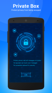 تصویر محیط TextU – Private SMS Messenger, Call screening v3.6.8