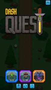 تصویر محیط Dash Quest v2.9.23