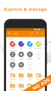 تصویر محیط File Manager by Astro (File Browser) v8.3.0.0003