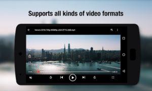 تصویر محیط Video Player Pro v8.0.0.14