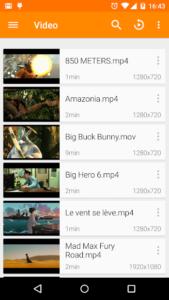 تصویر محیط VLC for Android v3.3.0 build 7