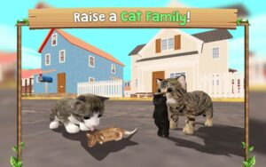 تصویر محیط Cat Sim Online: Play with Cats v101
