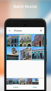 تصویر محیط Resize Me! – Photo & Picture resizer v1.99