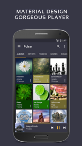 تصویر محیط Pulsar Music Player Pro v1.9.4 build 169