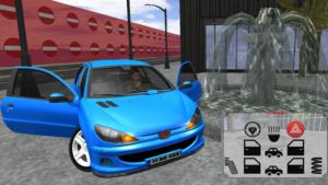 تصویر محیط 206 Driving Simulator v6.0