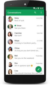 تصویر محیط chomp SMS Pro v8.7