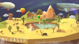 تصویر محیط My Oasis – Calming and Relaxing Incremental Game v1.266