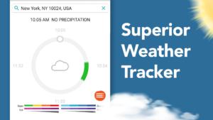 تصویر محیط AccuWeather: Weather Tracker & Live Forecast Maps v7.2.22