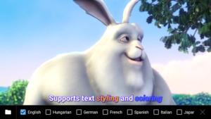 تصویر محیط MX Player Pro v1.13.2