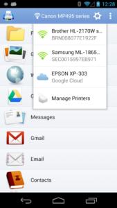 تصویر محیط PrintHand Mobile Print Premium v12.22.5