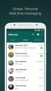 تصویر محیط WhatsApp Messenger v2.21.5.5