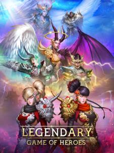 تصویر محیط Legendary: Game of Heroes v3.9.9