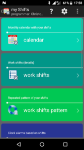 تصویر محیط my work shifts PRO v1.88.0