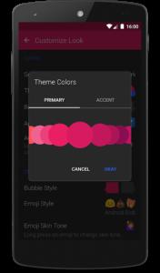 تصویر محیط Textra SMS PRO v4.35 build 43502