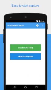 تصویر محیط Screenshot Snap v3.1.8