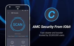 تصویر محیط AMC Security – Clean & Boost & Antivirus v5.11.3