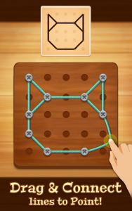 تصویر محیط Line Puzzle: String Art v2.1.1