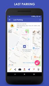 تصویر محیط ParKing Premium: Find my car – Automatic v6.4.1p