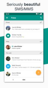 تصویر محیط Pulse SMS (Phone/Tablet/Web) v5.4.11.2831