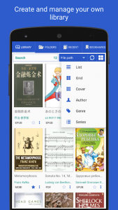 تصویر محیط Librera PRO – Book reader and PDF (no Ads) v8.3.100