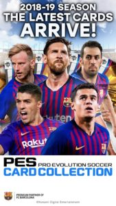تصویر محیط PES CARD COLLECTION v2.6.1
