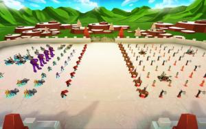 تصویر محیط Epic Battle Simulator v1.8.00