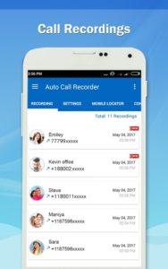 تصویر محیط Auto Call Recorder – PRO v1.11