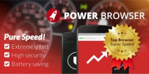 تصویر محیط Power Browser – Fast Internet v72.0.2016123149