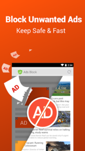 تصویر محیط CM Browser – Adblock , Fast Download , Privacy v5.22.21.0041