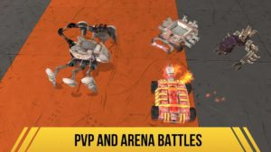 تصویر محیط Robot Fighting 2 Minibots 3D v2.3.14