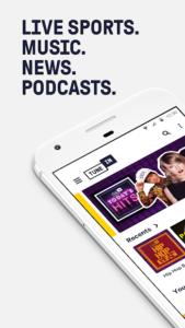 تصویر محیط TuneIn Radio Pro – Live Radio v21.8.1