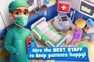 تصویر محیط Dream Hospital – Hospital Simulation Game v2.1.18