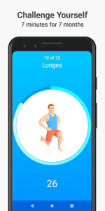 تصویر محیط Seven – 7 Minute Workout Training Challenge v9.4.3