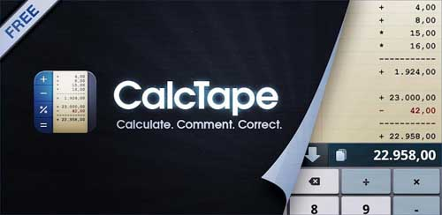CalcTape Calculator with Tape v6.0.2