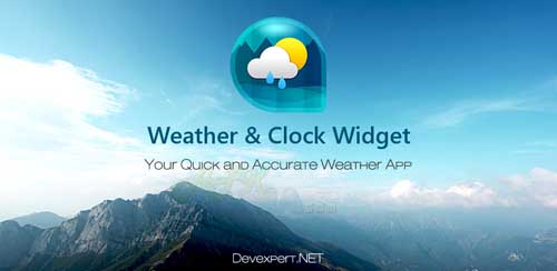 Weather & Clock Widget Full v4.1.2.5