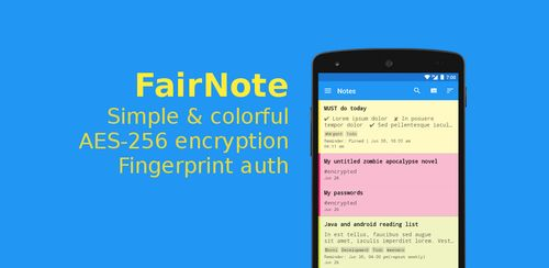 FairNote: Encrypted Notes & Lists v2.0.6