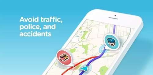 Waze – GPS, Maps, Traffic Alerts & Live Navigation v4.55.0.1