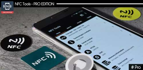 NFC Tools – Pro Edition v7.2