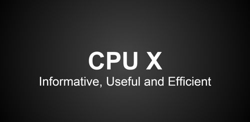 CPU X : System & Hardware info v3.0.9