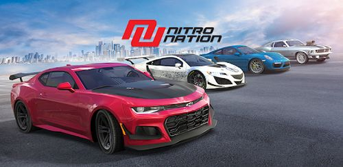 Nitro Nation Drag & Drift v6.12 + data