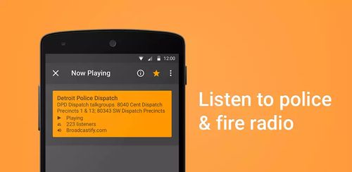 Scanner Radio Pro – Fire and Police Scanner v6.9.9.2