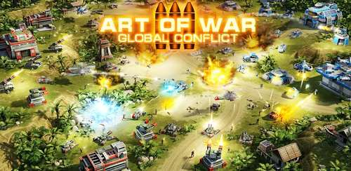 Art of War 3: PvP RTS modern warfare strategy game v1.0.80
