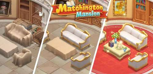 Matchington Mansion: Match-3 Home Decor Adventure v1.54.0 + data