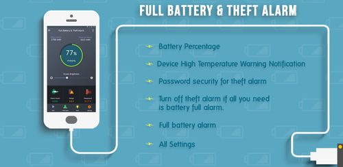 Full Battery Alarm & Theft Alarm v5.4.9r363
